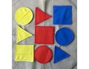 Piezas de color con velcro